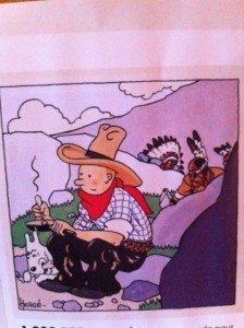 Tintin en Amérique dans les bebes-les jeunes enfants -les ados tintin6-224x300