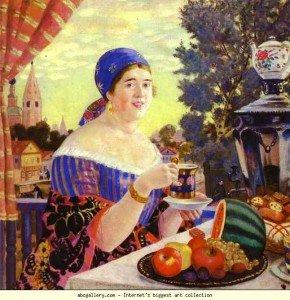Belles femmes rondes..(nues ou habillées) ..vues par les peintres (2) dans les hommes & les femmes kustodiyev22-290x300