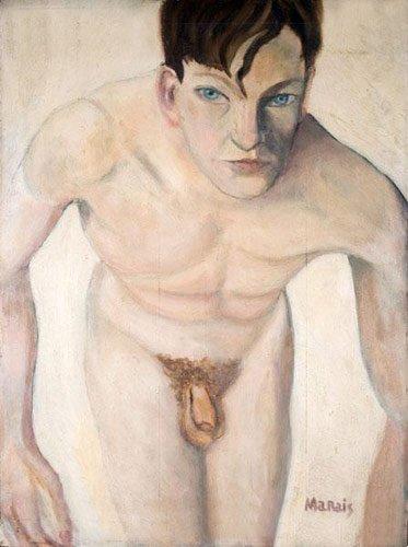 Jean MARAIS - acteur et peintre dans on peut tjrs rever 1935_jean-marais_autoportrait-nu