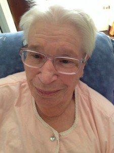 maman - sa dernière photo septembre 2015